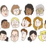 毛髪の太さや密度、色は年齢・性別・人種と深い関係にある!