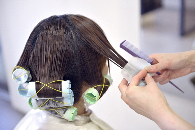 usu 047 02 パーマは髪を傷めるか?化学的にみる毛髪の損傷